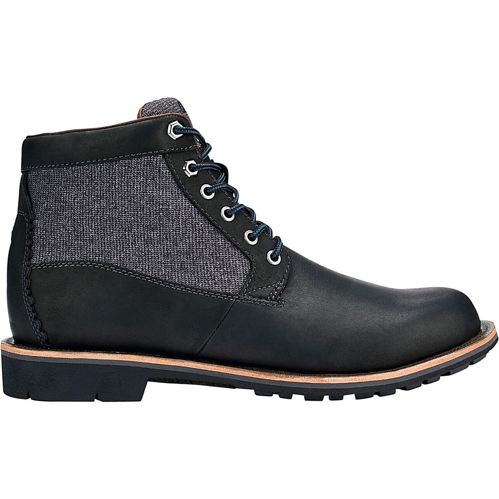 OluKai Mens Hualalai Boot 9 - Black/Black - OluKai Mens Footwear - Apparel & Footwear, Men's Footwear