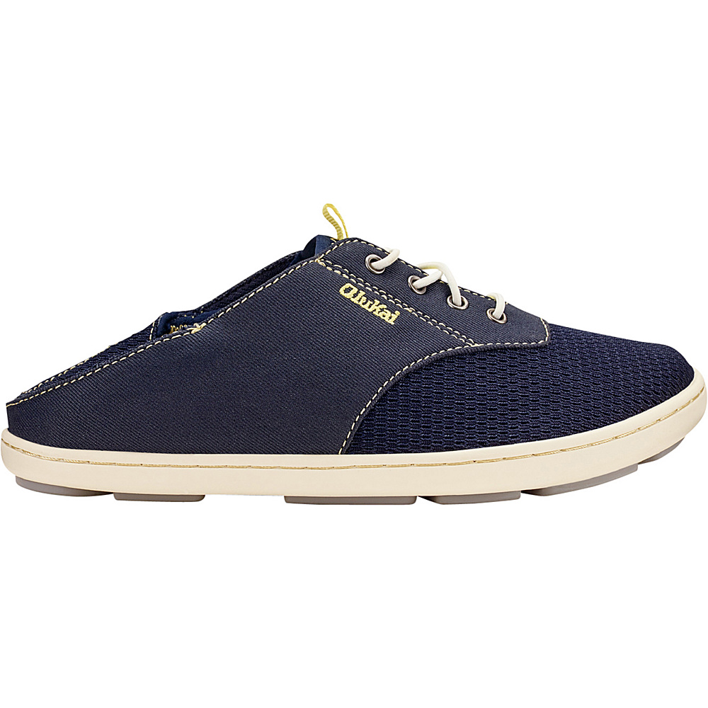 OluKai Boys Nohea Moku Slip-On 10 (US Toddlers) - Trench Blue/Trench Blue - OluKai Mens Footwear - Apparel & Footwear, Men's Footwear