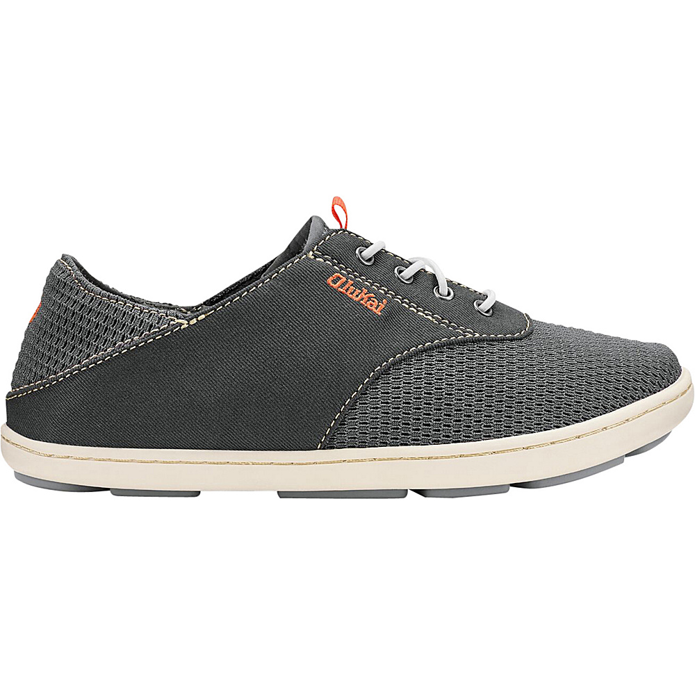 OluKai Boys Nohea Moku Slip-On 9 (US Toddlers) - Dark Shadow/Dark Shadow - OluKai Mens Footwear - Apparel & Footwear, Men's Footwear