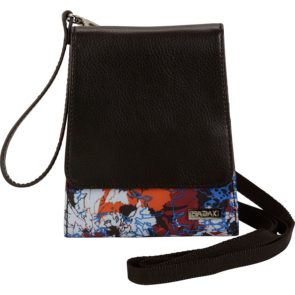 Hadaki Crossbody Wallet Watercolors - Hadaki Leather Handbags - Handbags, Leather Handbags