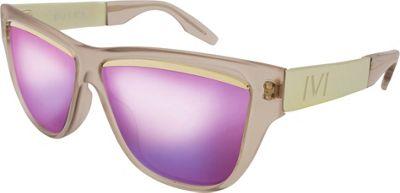 IVI Dusky Sunglasses Polished Nude - Brushed Champagne - IVI Eyewear