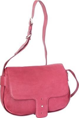 Nino Bossi Hanna Crossbody Fuchsia - Nino Bossi Leather Handbags