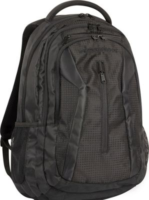 Weatherproof Trail Ridge 19 inch Laptop Backpack Black - Weatherproof Business & Laptop Backpacks