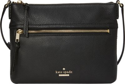 kate spade new york Jackson Street Gabriele Crossbody Black - kate spade new york Designer Handbags