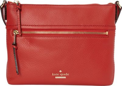 kate spade new york Jackson Street Gabriele Crossbody Red Carpet - kate spade new york Designer Handbags