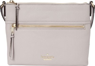 kate spade new york Jackson Street Gabriele Crossbody Bone Grey - kate spade new york Designer Handbags