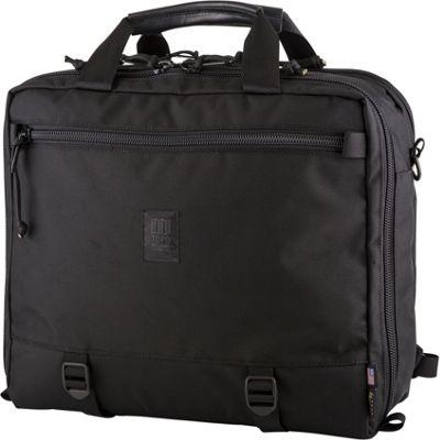 Topo Designs 3-Day Briefcase Ballistic Black - Topo Designs Travel Backpacks
