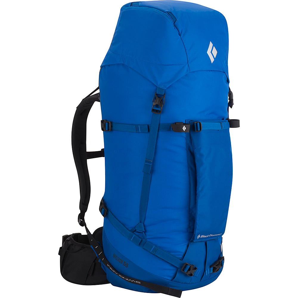 Black Diamond Mission 55 Hiking Pack Cobalt - Small/Medium - Black Diamond Backpacking Packs - Outdoor, Backpacking Packs