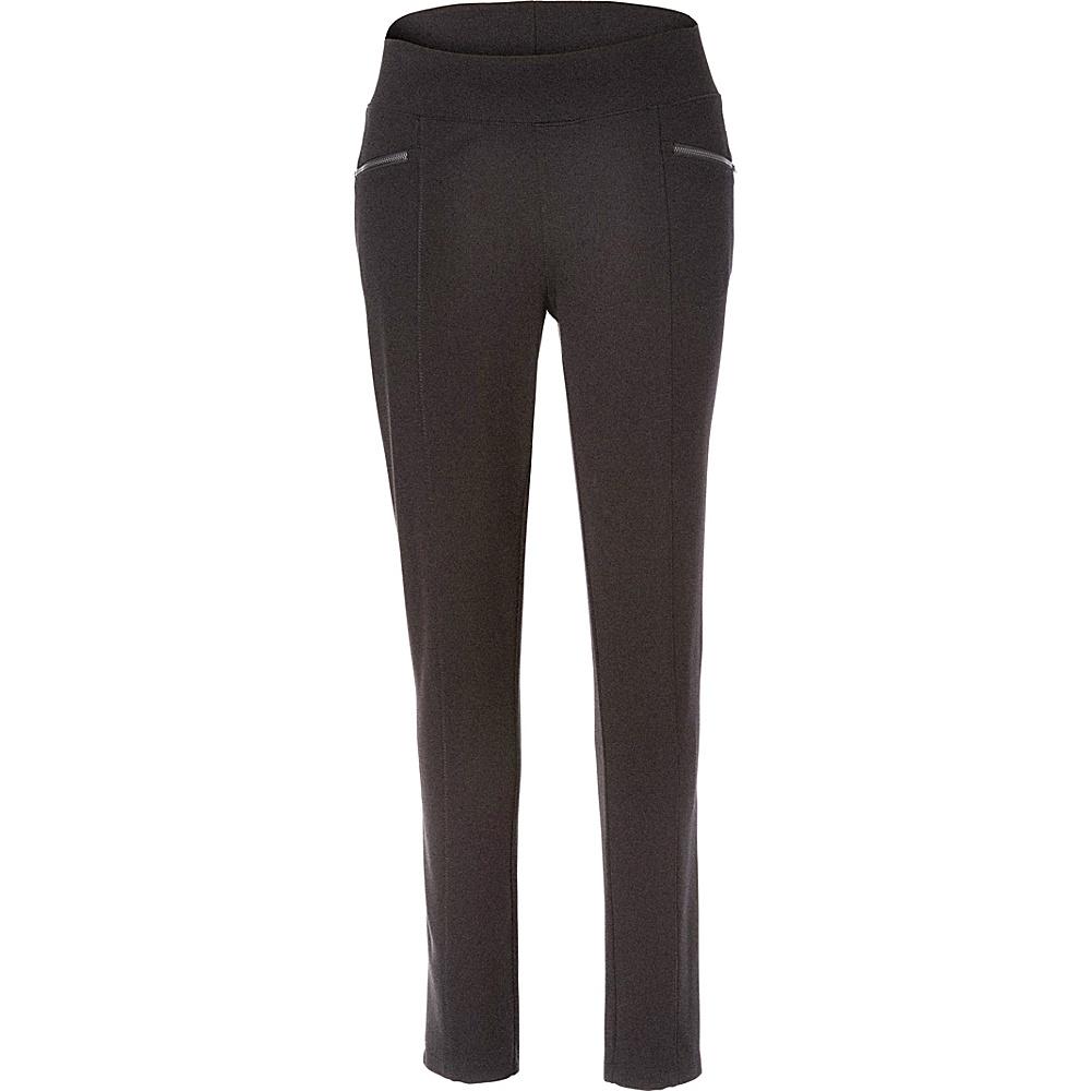 Royal Robbins Womens Lucerne Ponte Slim Leg Pant XL - 30in - Charcoal - Royal Robbins Womens Apparel - Apparel & Footwear, Women's Apparel