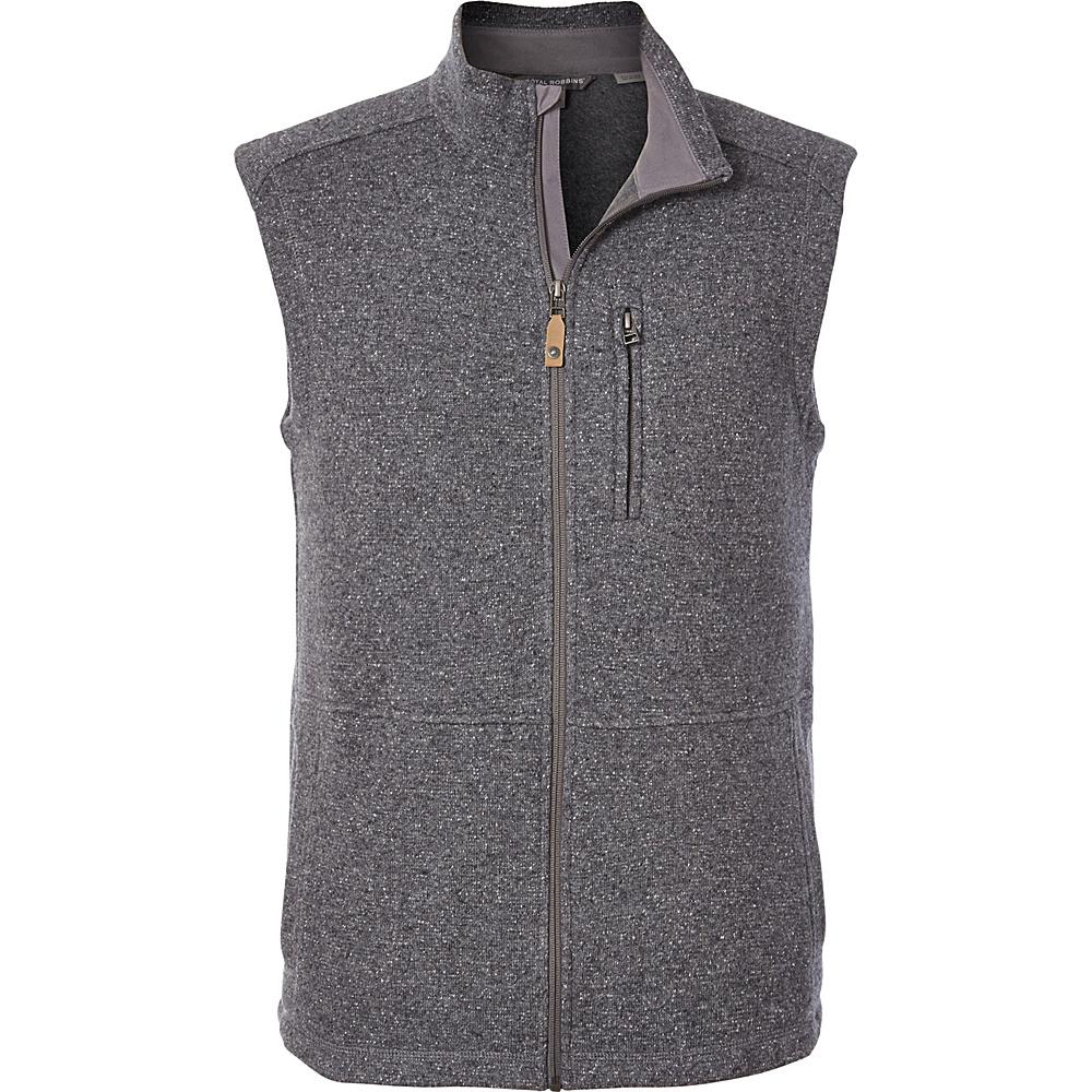 Royal Robbins Mens Dolomites Sweater Fleece Vest L - Pewter - Royal Robbins Mens Apparel - Apparel & Footwear, Men's Apparel