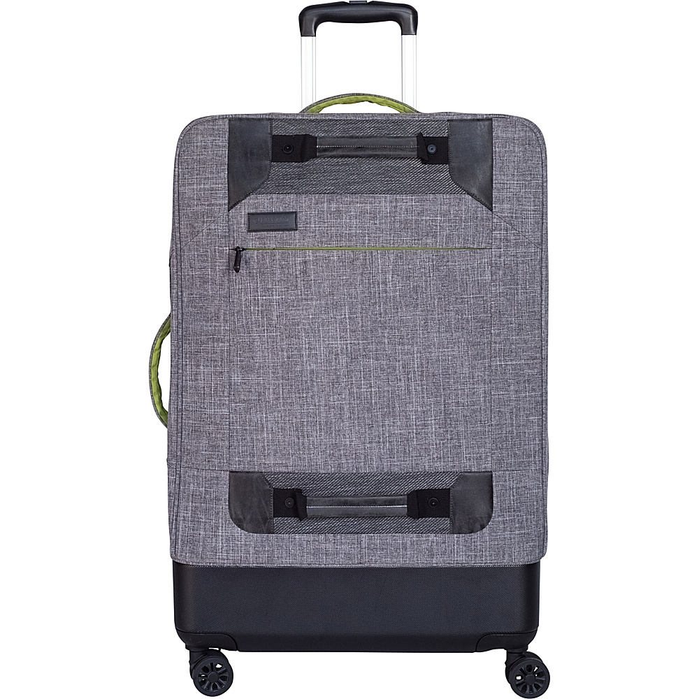 All of Us Hybrid 28″ Expandable Checked Spinner Luggage Grey – All of Us Softside Checked