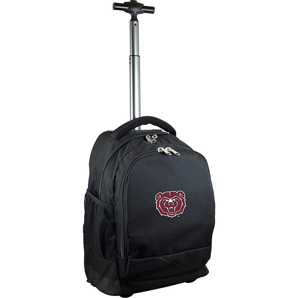 MOJO Denco College NCAA Premium Laptop Rolling Backpack Missouri State - MOJO Denco Rolling Backpacks - Backpacks, Rolling Backpacks