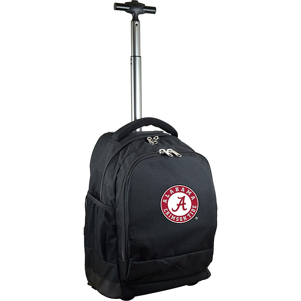 MOJO Denco College NCAA Premium Laptop Rolling Backpack Alabama - MOJO Denco Rolling Backpacks - Backpacks, Rolling Backpacks