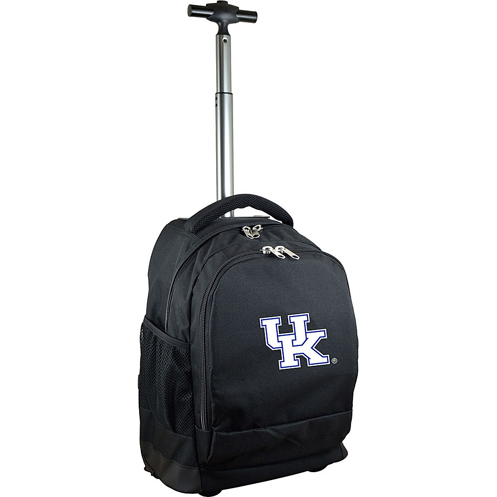 MOJO Denco College NCAA Premium Laptop Rolling Backpack Kentucky - MOJO Denco Rolling Backpacks - Backpacks, Rolling Backpacks