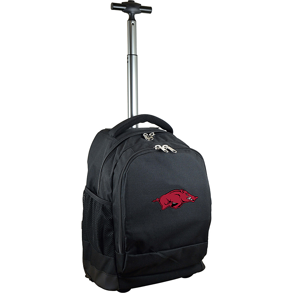 MOJO Denco College NCAA Premium Laptop Rolling Backpack Arkansas - MOJO Denco Rolling Backpacks - Backpacks, Rolling Backpacks