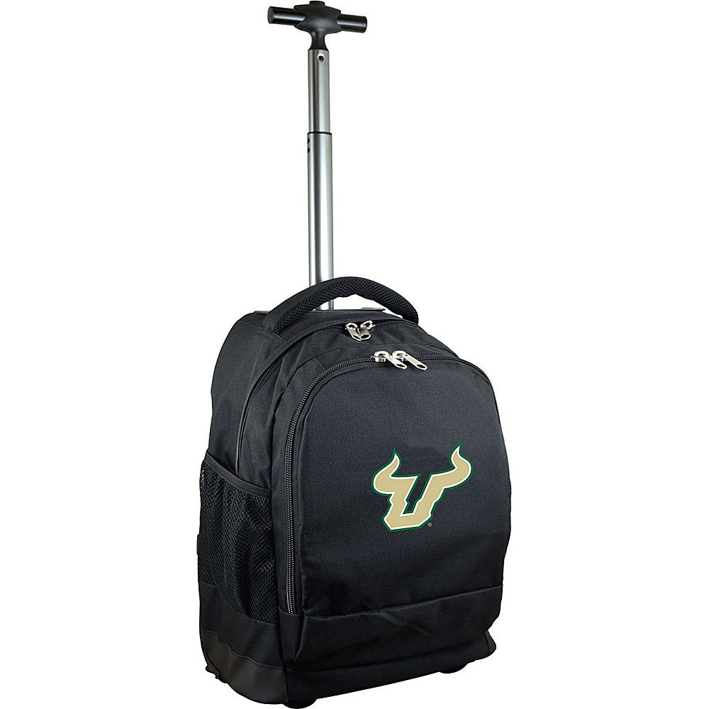 MOJO Denco College NCAA Premium Laptop Rolling Backpack South Florida - MOJO Denco Rolling Backpacks - Backpacks, Rolling Backpacks