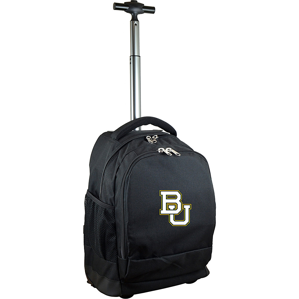 MOJO Denco College NCAA Premium Laptop Rolling Backpack Baylor - MOJO Denco Rolling Backpacks - Backpacks, Rolling Backpacks