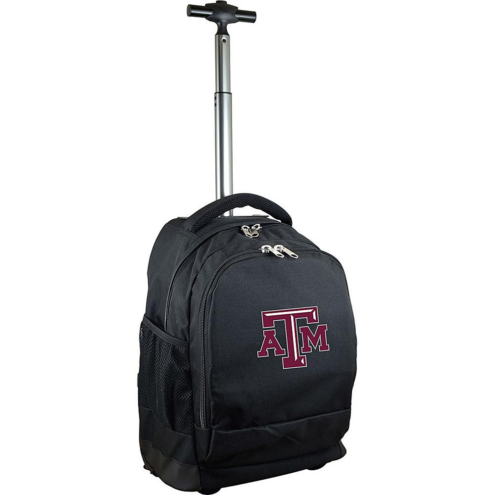 MOJO Denco College NCAA Premium Laptop Rolling Backpack Texas A&M - MOJO Denco Rolling Backpacks - Backpacks, Rolling Backpacks