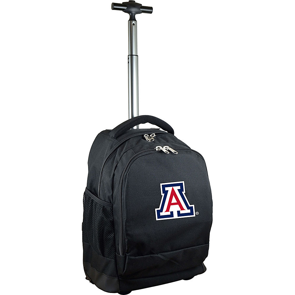 MOJO Denco College NCAA Premium Laptop Rolling Backpack Arizona - MOJO Denco Rolling Backpacks - Backpacks, Rolling Backpacks