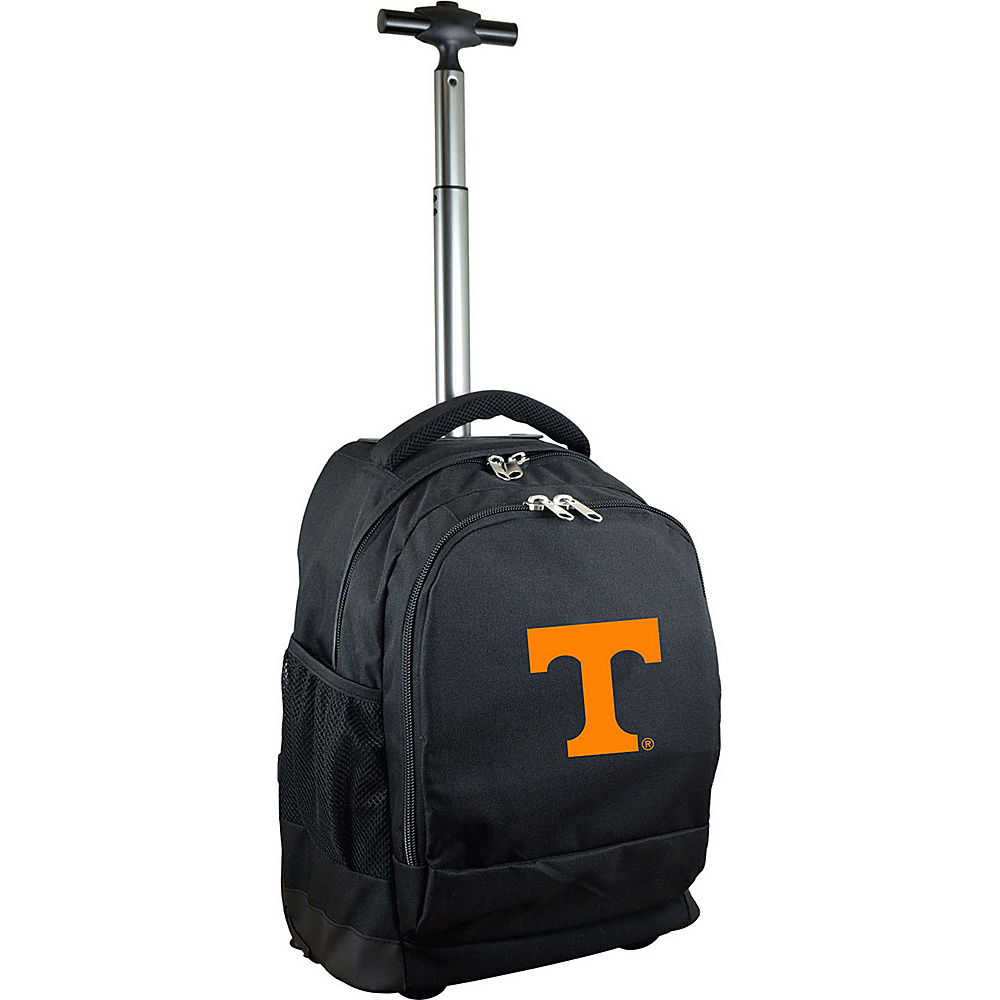 MOJO Denco College NCAA Premium Laptop Rolling Backpack Tennessee - MOJO Denco Rolling Backpacks - Backpacks, Rolling Backpacks