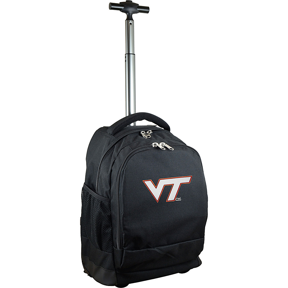 MOJO Denco College NCAA Premium Laptop Rolling Backpack Virginia Tech - MOJO Denco Rolling Backpacks - Backpacks, Rolling Backpacks