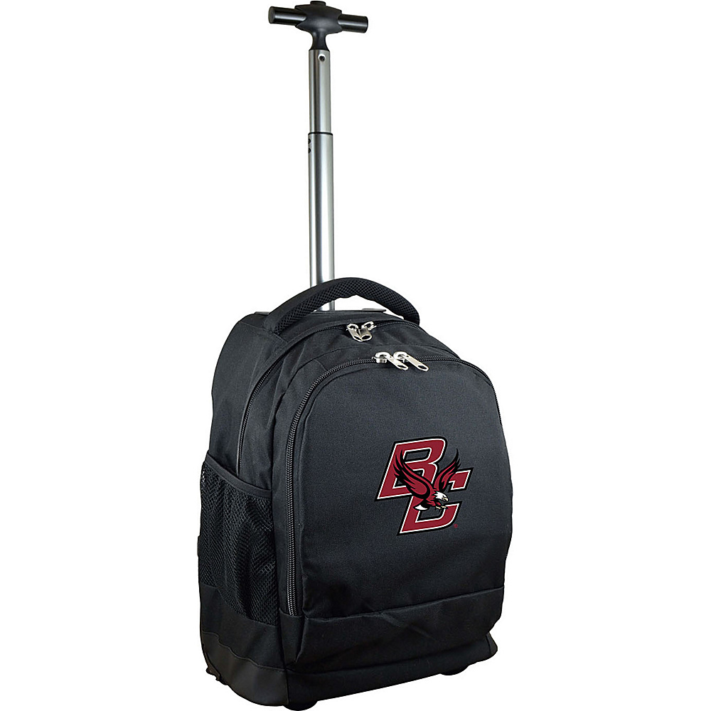 MOJO Denco College NCAA Premium Laptop Rolling Backpack Boston College - MOJO Denco Rolling Backpacks - Backpacks, Rolling Backpacks