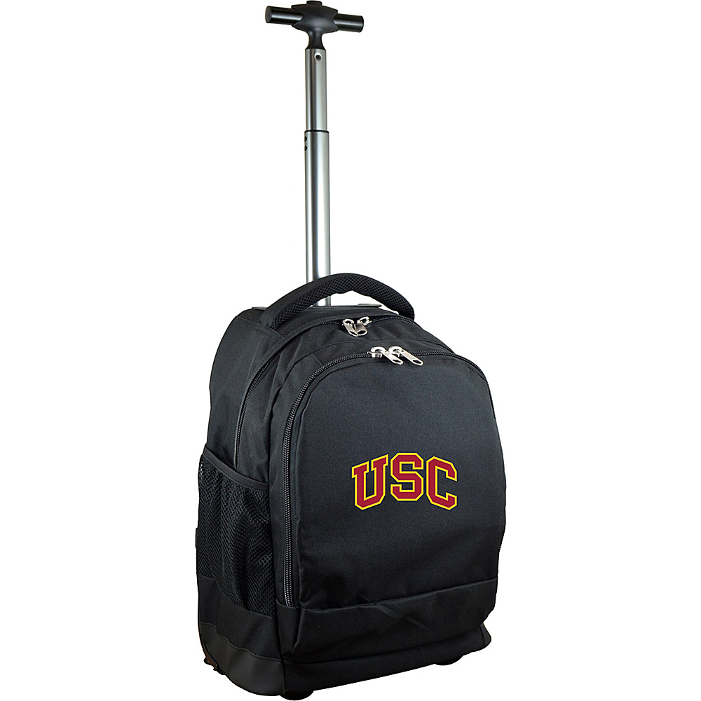 MOJO Denco College NCAA Premium Laptop Rolling Backpack Southern California - MOJO Denco Rolling Backpacks - Backpacks, Rolling Backpacks