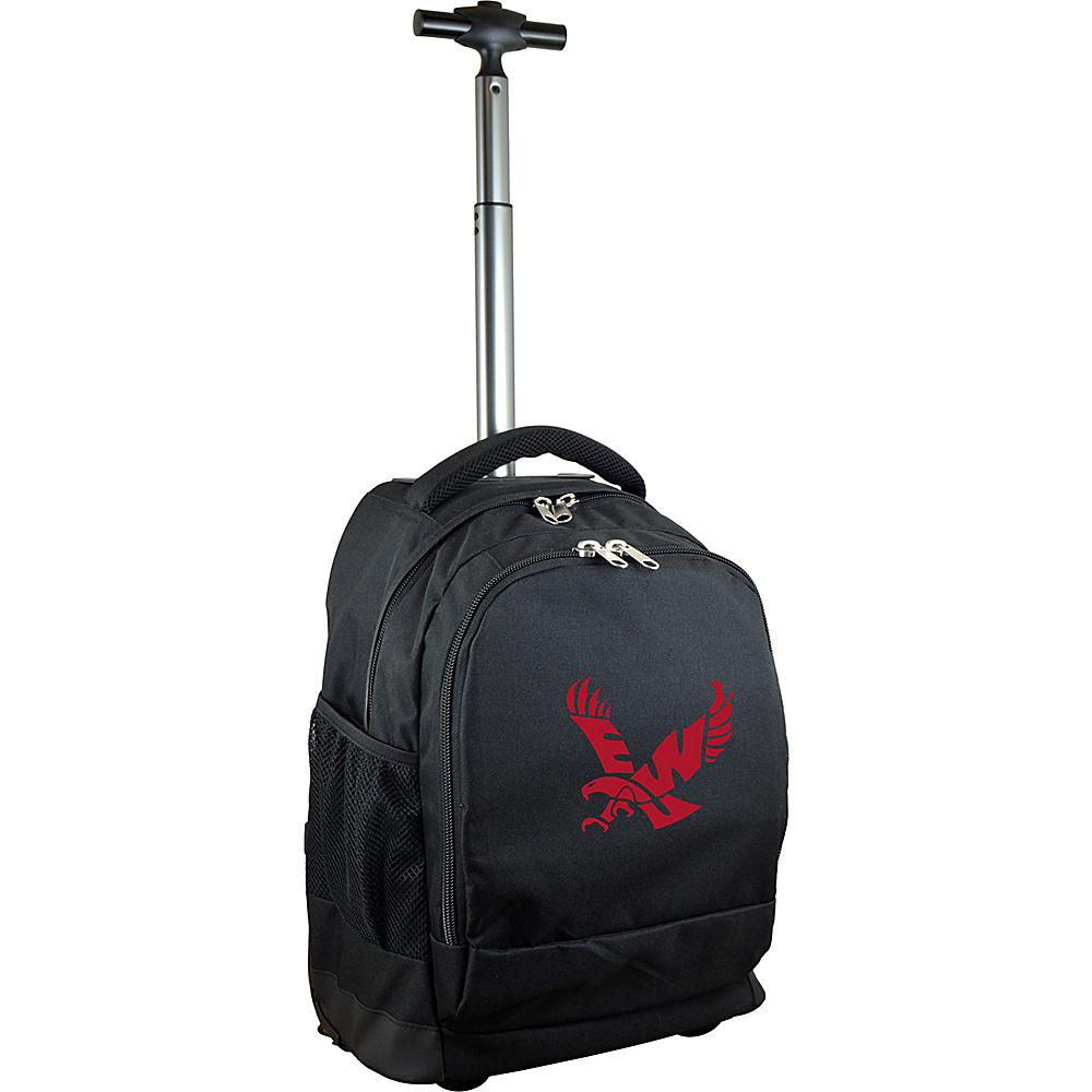 MOJO Denco College NCAA Premium Laptop Rolling Backpack Eastern Washington - MOJO Denco Rolling Backpacks - Backpacks, Rolling Backpacks