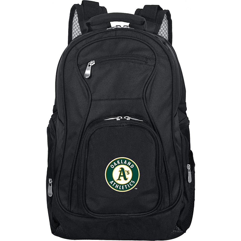 MOJO Denco MLB Laptop Backpack Oakland As - MOJO Denco Business & Laptop Backpacks - Backpacks, Business & Laptop Backpacks