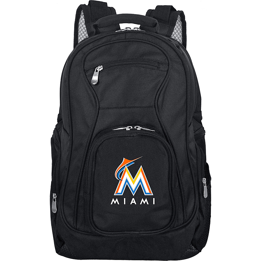 MOJO Denco MLB Laptop Backpack Miami Marlins - MOJO Denco Business & Laptop Backpacks - Backpacks, Business & Laptop Backpacks