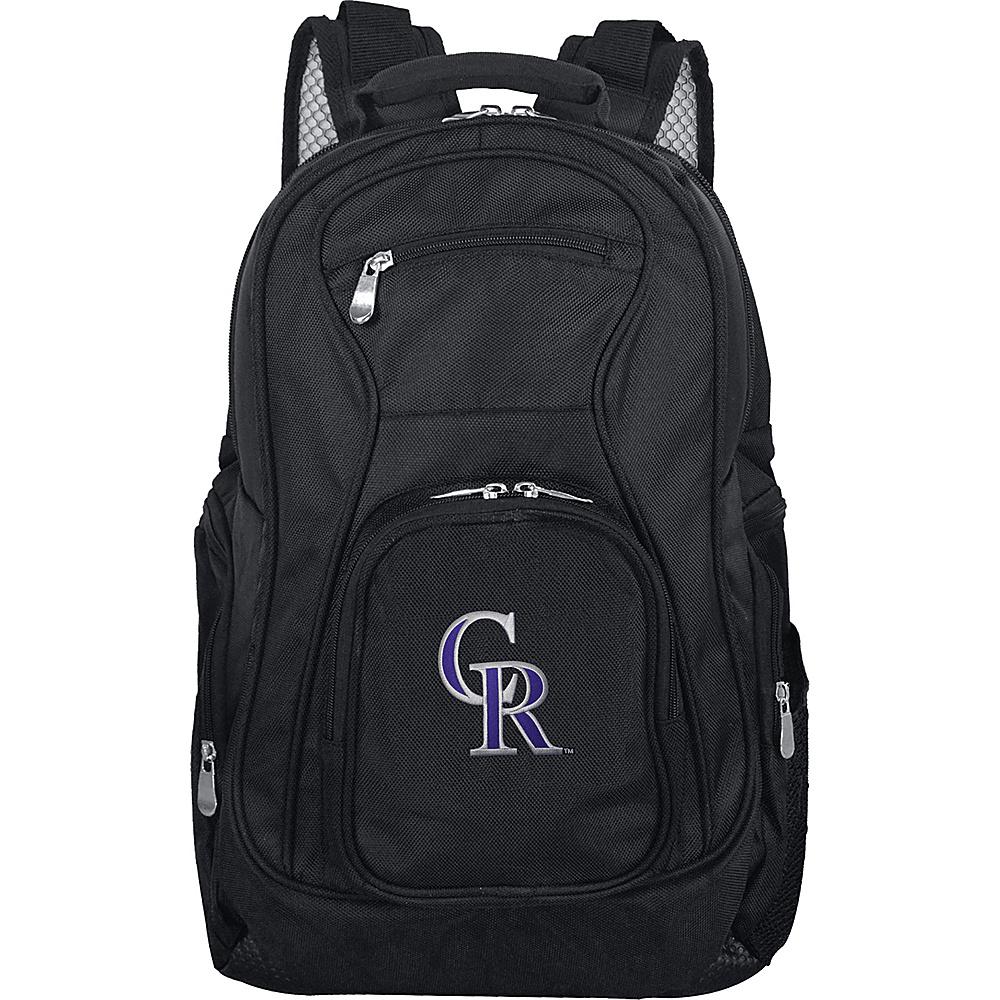 MOJO Denco MLB Laptop Backpack Colorado Rockies - MOJO Denco Business & Laptop Backpacks - Backpacks, Business & Laptop Backpacks