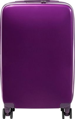 Raden A22 Smart 22 inch Hardside Carry-On Spinner Luggage Shadow Purple Gloss - Raden Hardside Carry-On