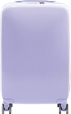 Raden A22 Smart 22 inch Hardside Carry-On Spinner Luggage Light Purple Gloss - Raden Hardside Carry-On
