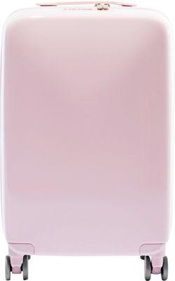 Raden A22 Smart 22 inch Hardside Carry-On Spinner Luggage Light Pink Gloss - Raden Hardside Carry-On