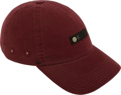 A Kurtz A Kurtz Chino Corps Baseball Cap One Size - Steeled Crimson - A Kurtz Hats/Gloves/Scarves