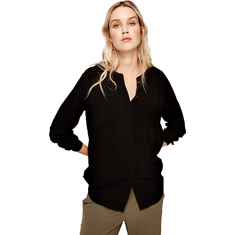 Lole Jessa Blouse XS - Black - Lole Womens Apparel - Apparel & Footwear, Women's Apparel