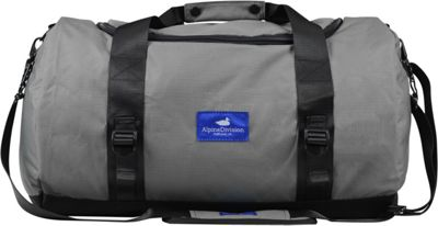 Alpine Division North Fork Duffel Grey Ripstop - Alpine Division All-Purpose Duffels