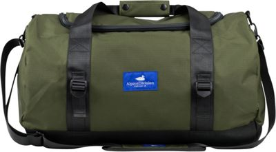 Alpine Division North Fork Duffel Green Ripstop - Alpine Division All-Purpose Duffels