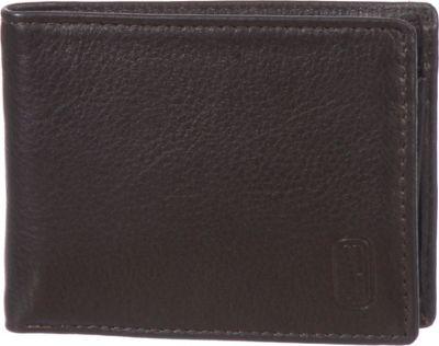 Club Rochelier Slim Mens Leather Wallet Brown - Club Rochelier Men's Wallets