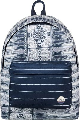 Roxy Be Young 24L Medium Laptop Backpack Dress Blues Chief Prado - Roxy Laptop Backpacks