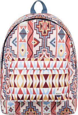 Roxy Be Young 24L Medium Laptop Backpack Pale Dogwood Pasadena Blanket - Roxy Laptop Backpacks
