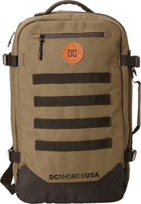 DC Shoes Men's Turbine 28L Large Laptop Backpack Fatigue Green - DC Shoes Laptop Backpacks