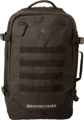 DC Shoes Men's Turbine 28L Large Laptop Backpack Black - DC Shoes Laptop Backpacks