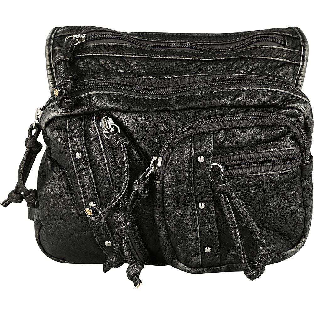MKF Collection by Mia K. Farrow Travelocity Crossbody Pewter - MKF Collection by Mia K. Farrow Manmade Handbags - Handbags, Manmade Handbags