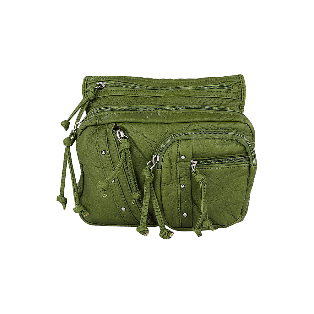 MKF Collection by Mia K. Farrow Travelocity Crossbody Green - MKF Collection by Mia K. Farrow Manmade Handbags - Handbags, Manmade Handbags