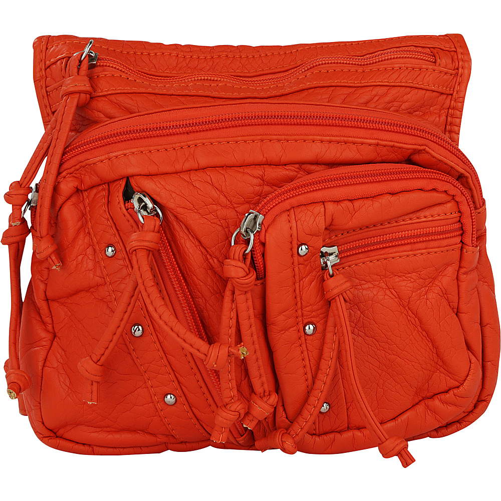 MKF Collection by Mia K. Farrow Travelocity Crossbody Orange - MKF Collection by Mia K. Farrow Manmade Handbags - Handbags, Manmade Handbags