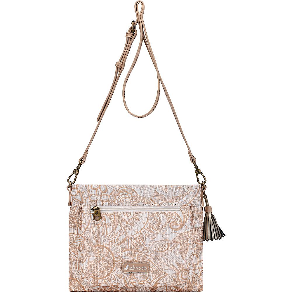 Sakroots Camden Small Crossbody Rose Gold Spirit Desert - Sakroots Fabric Handbags - Handbags, Fabric Handbags