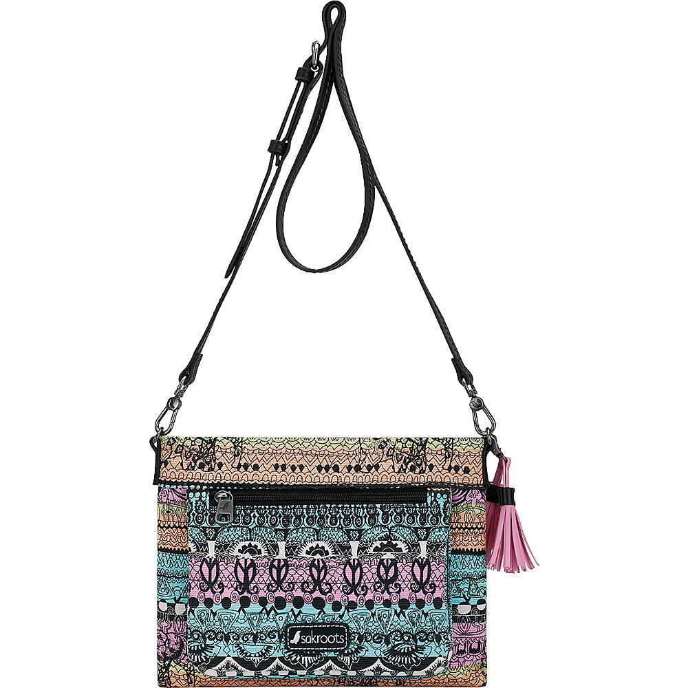 Sakroots Camden Small Crossbody Sherbet One World - Sakroots Fabric Handbags - Handbags, Fabric Handbags