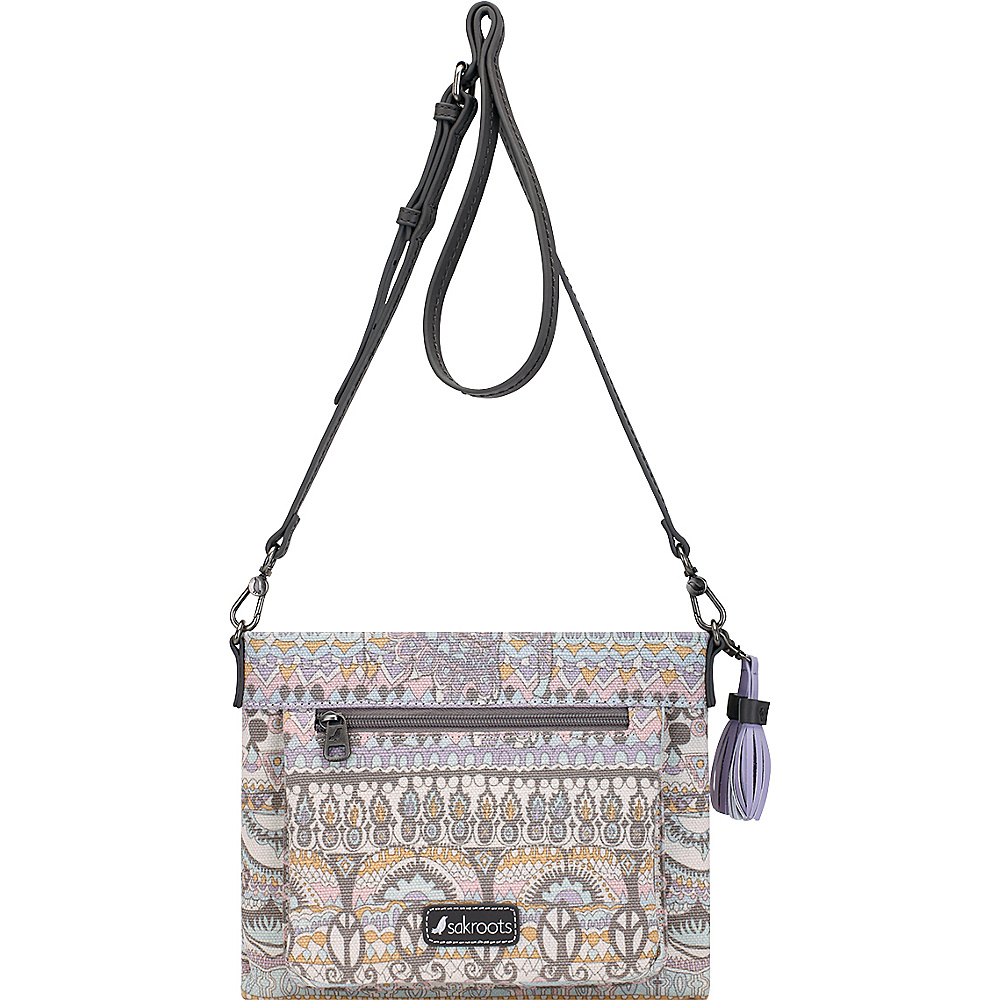 Sakroots Camden Small Crossbody Pastel One World - Sakroots Fabric Handbags - Handbags, Fabric Handbags