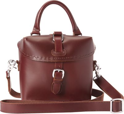 Vagabond Traveler Shoulder Bag Crossbody Wine Red - Vagabond Traveler Leather Handbags
